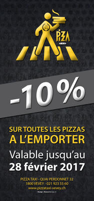 FLYERS PIZZA TAXI 10 %