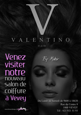 VALENTINO HAIR 2010 VEVEY AFFICHE A3